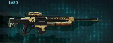 Sandy scrub sniper rifle la80