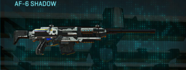 Rocky tundra scout rifle af-6 shadow