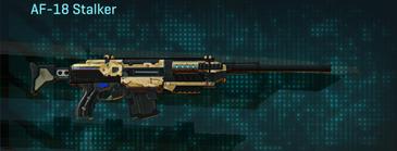 Sandy scrub scout rifle af-18 stalker