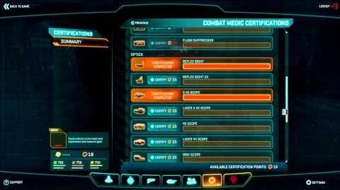 Planetside 2 Basic Training Certification Points-0