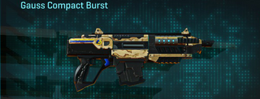 Sandy scrub carbine gauss compact burst