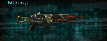African forest shotgun fa1 barrage