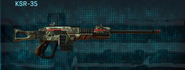 Pine forest sniper rifle ksr-35