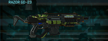 Jungle forest carbine razor gd-23