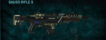 Scrub forest assault rifle gauss rifle s