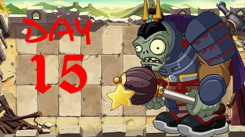 PvZ All Stars - Great Wall of China Day 15 BOSS