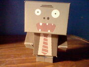 Regular Papercraft Zombie