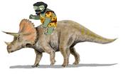 TriceratopsRiderZombie