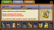 Mummified Gargantuar Almanac Entry