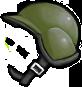 GatlingPeaZombie helmet