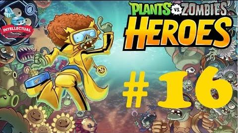 Plants vs Zombies Heroes Part 16 - ZM 3 - It Came from the Greenhouse - Electric Boogaloo