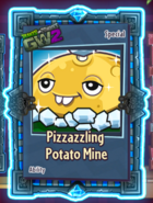 Pizzazzling Potato Mine sticker