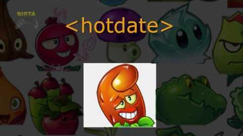 Plants vs Zombies 2 - New Plant Revealed Hot Date 🙀