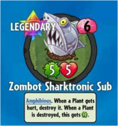 Receiving Zombot Sharktronic Sub