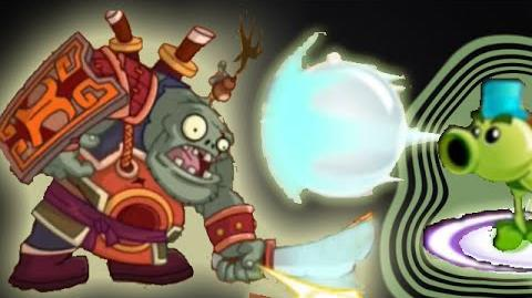 Plants vs Zombies 2 Kungfu World Final Boss, Blade-Wielding Hero, Gameplay&Walkthrough