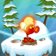 Fire Peashooter on the World Map (Chinese version)