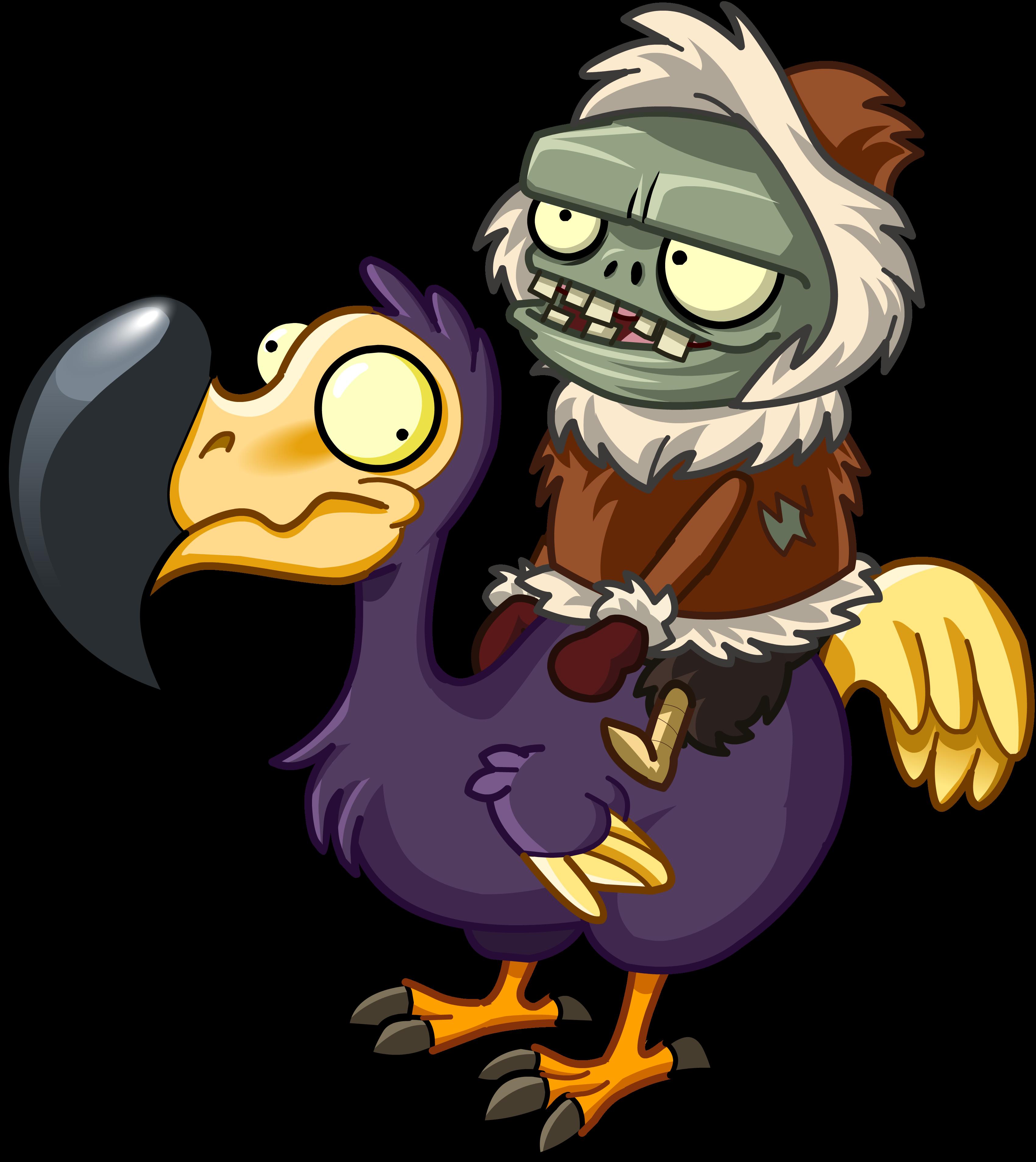 Dodo Rider Zombie Gallery Plants Vs Zombies Wiki