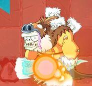 Sloth Gargantuar on Fire
