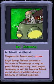 Almanac Card Dr. Zomboss