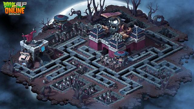 File:Plants vs zombies 2 Quinshuan Mausoleum.jpg