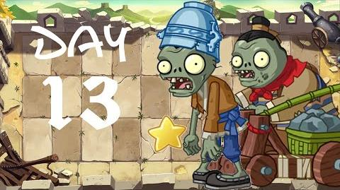 PvZ All Stars - Great Wall of China Day 13