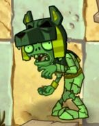 Fainted Tomb Raiser Zombie