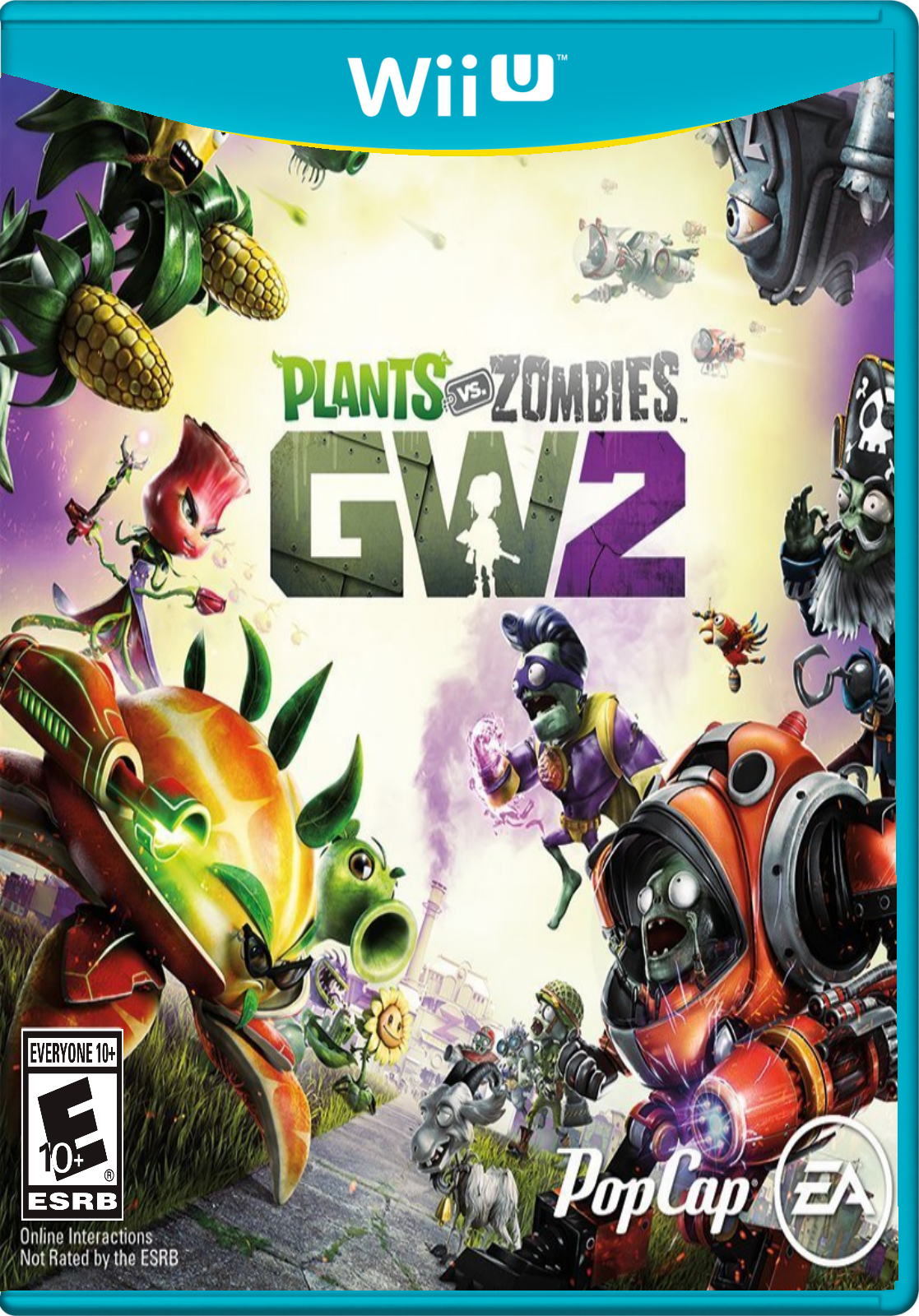 image plants vs zombies garden warfare 2 on wii plants vs zombies wiki fandom