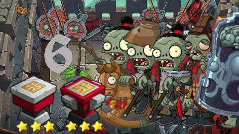 PvZ Online - Adventure Mode - Battle of the Great Wall 6