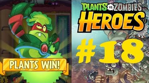 Plants vs Zombies Heroes Part 18 - PM 9 - Battle for the Belt - Grass Knuckles