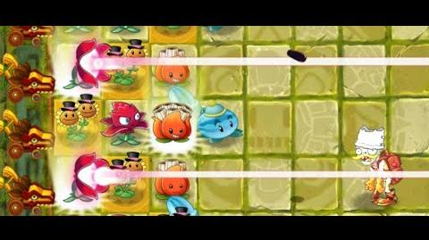 Plants vs Zombies 2 - Lost City Day 11
