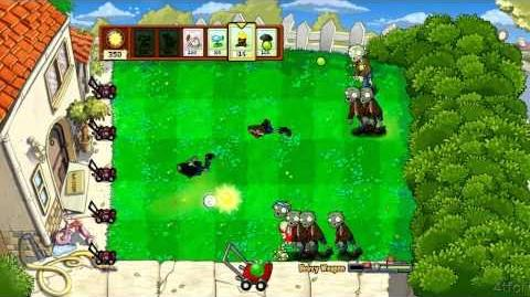 Plants vs Zombies Xbox 360 Heavy Weapon Minigame