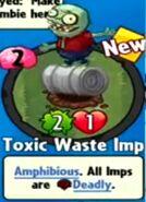 Receiving Toxic Waste Imp