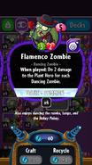 Flamenco Zombie stats
