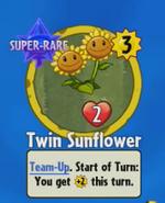 Receiving Twin Sunflower
