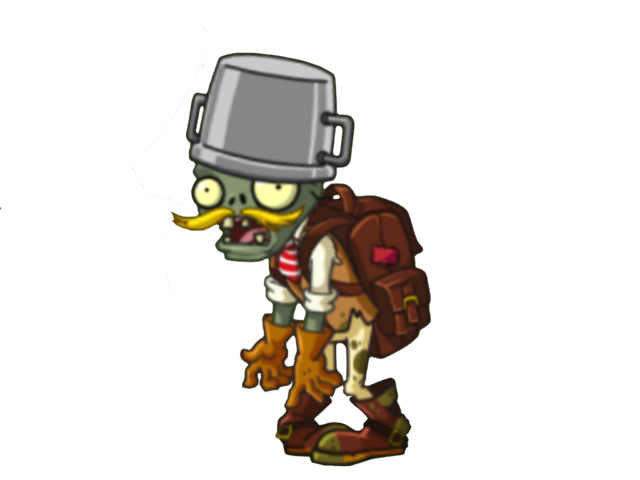 File:Adventurer Buckethead Zombie.PNG