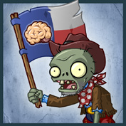 PvZ2 Flag Cowboy Zombie