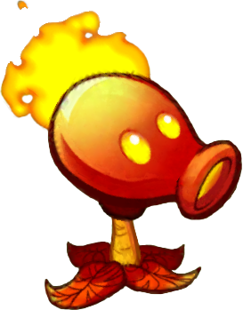 File:HD Fire Pea (PvZH).png