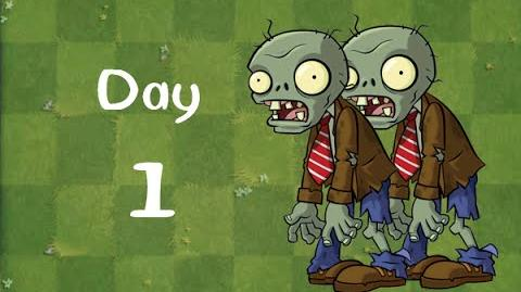 PvZ 2 Player's House - Day 1 Walkthrough created by JInhaoooooooooo
