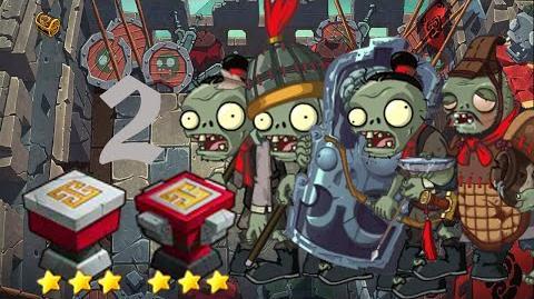 PvZ Online - Adventure Mode - Battle of the Great Wall 2