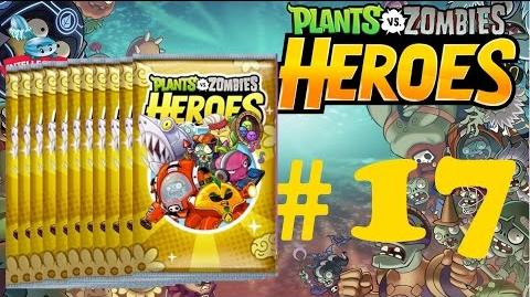 Plants vs Zombies Heroes Part 17 Open 11 Premium Packs - Trick or Treat Pack