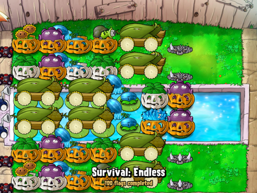 BUL9 Survival Pool Endless strategy