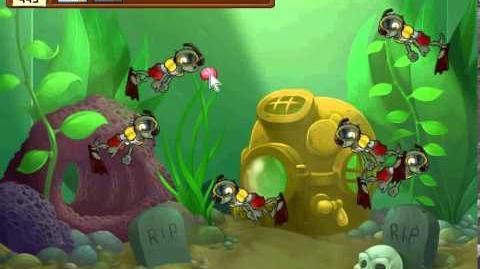 Plants vs Zombies Mini-game Zombiquarium-0