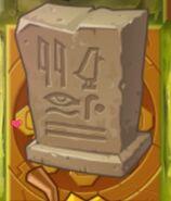 Egypt Tombstone Gold Tile
