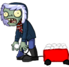 Snowball Thrower Zombie