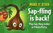 Sap-flingreturn