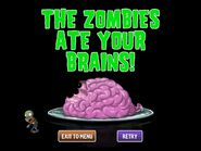 Basic Zombie Ate Brains PVZ 2