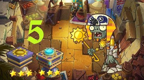 PvZ Online - Adventure Mode - Egyptian Market 5