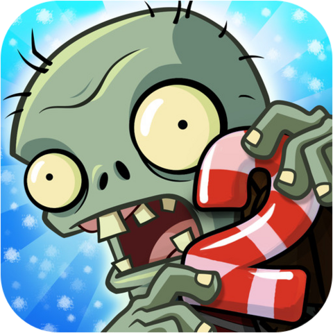 File:Plants Vs. Zombies™ 2 It's About Time Icon (Versions 1.7 to 1.8).png