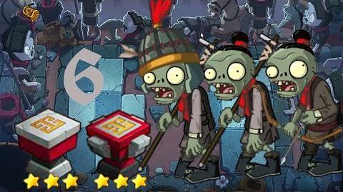 PvZ Online - Adventure Mode - Side of the Mausoleum 6