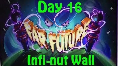 Far Future Day 16 - Infi-nut Wall - Plants vs Zombies 2